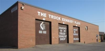 The Truck Exhaust Place outdoor garage